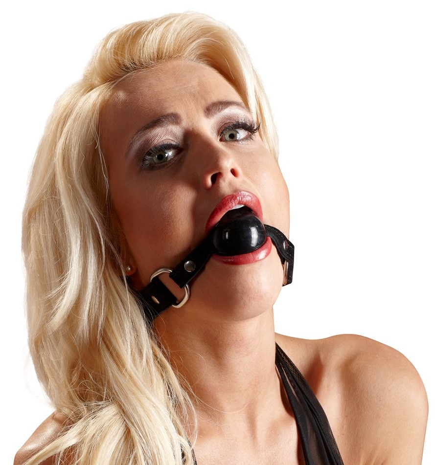 Кляп Wild Thing By Zado Leather Gag, черный
